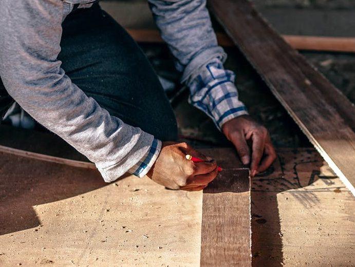 Messen, Holzarbeiten