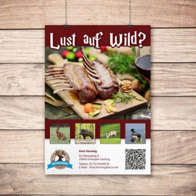 Postker-Lust-auf-wild
